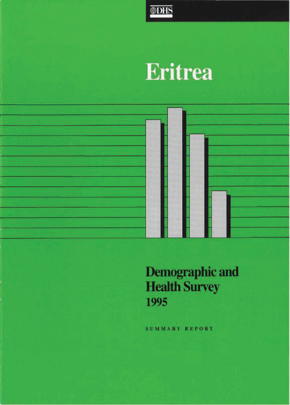 Cover of Eritrea DHS, 1995 - Summary Report (English)
