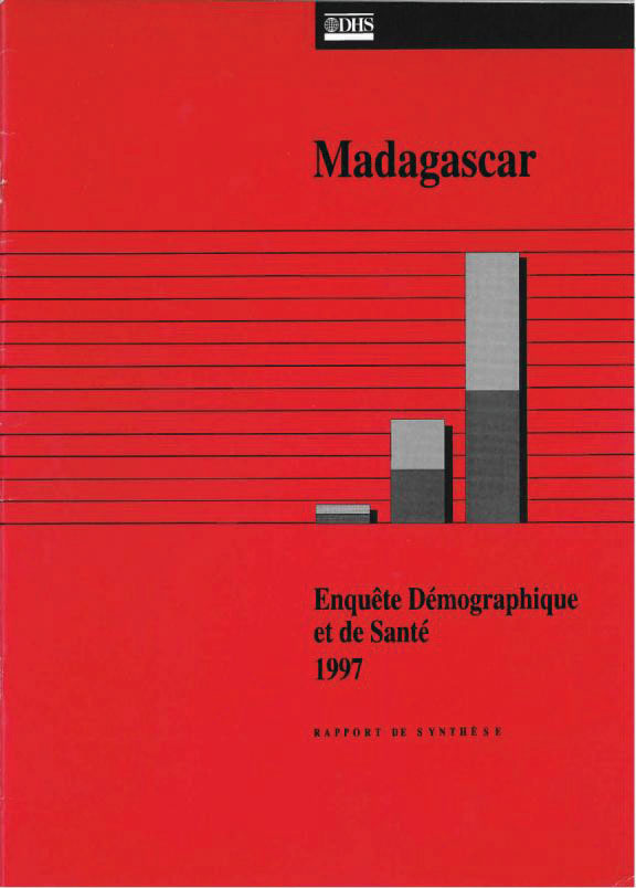 Cover of Madagascar DHS, 1997 - Summary Report (French)