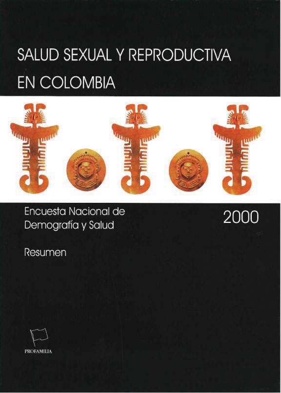Cover of Colombia DHS, 2000 - Summary Report (Spanish)