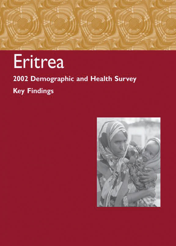 Cover of Eritrea DHS, 2002 - Summary Report (English)