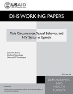 Cover of Male Circumcision, Sexual Behavior, and HIV Status in Uganda (English)