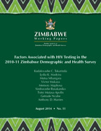 Cover of Factors Associated with HIV Testing in the 2010-11 Zimbabwe Demographic and Health Survey (English)
