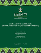 Cover of Unintended Births and HIV in the 2010-11 Zimbabwe Demographic and Health Survey (English)
