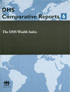 Comparative Reports 6 - DHS Wealth Index DHS