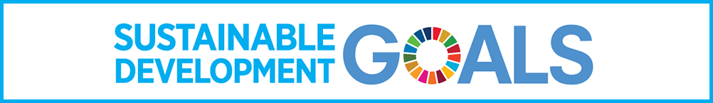 Sustainable development goals banner